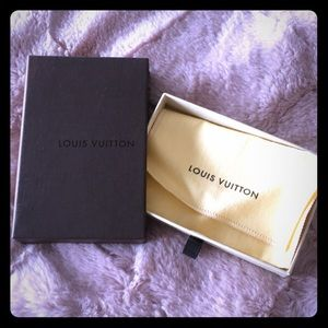 Louis Vuitton small box and dust bag
